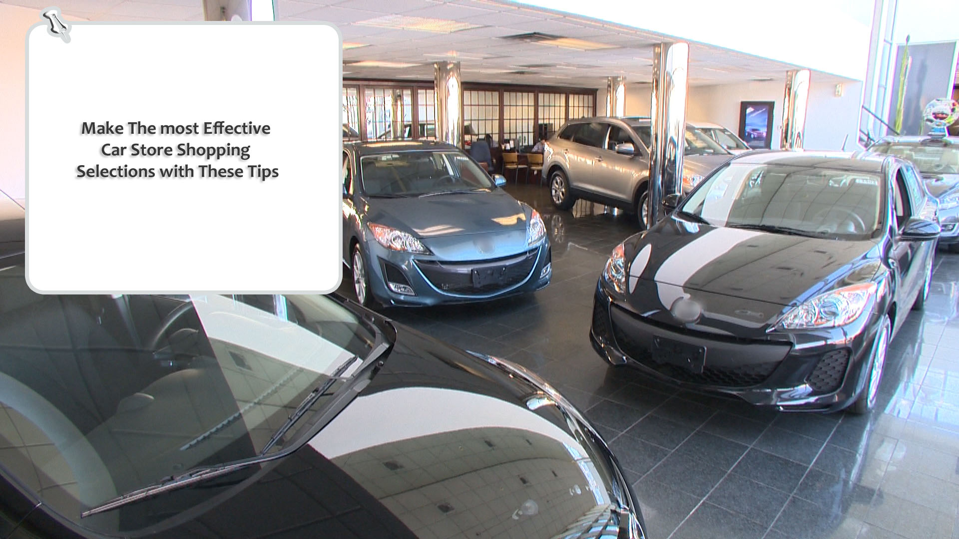 Make The most Effective Car Store shopping Selections With These Tips