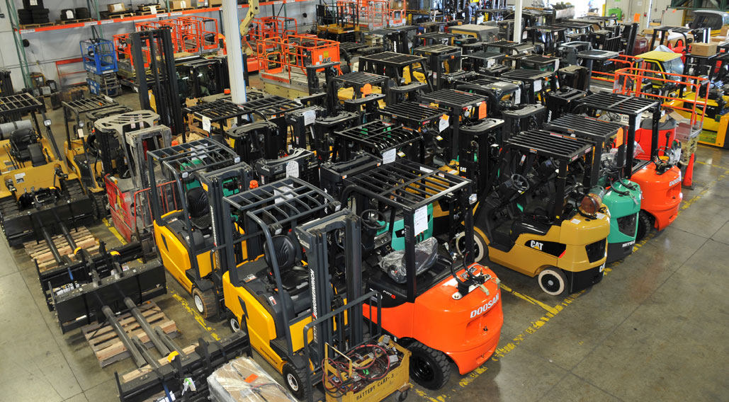 What to consider before renting a Forklift