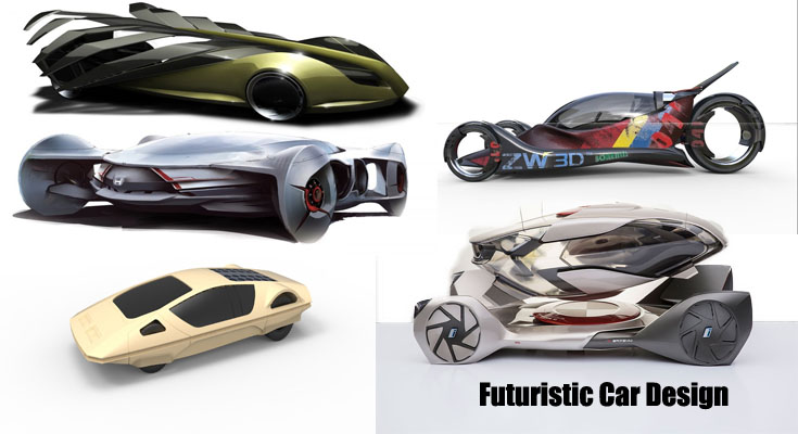 Futuristic Car Design